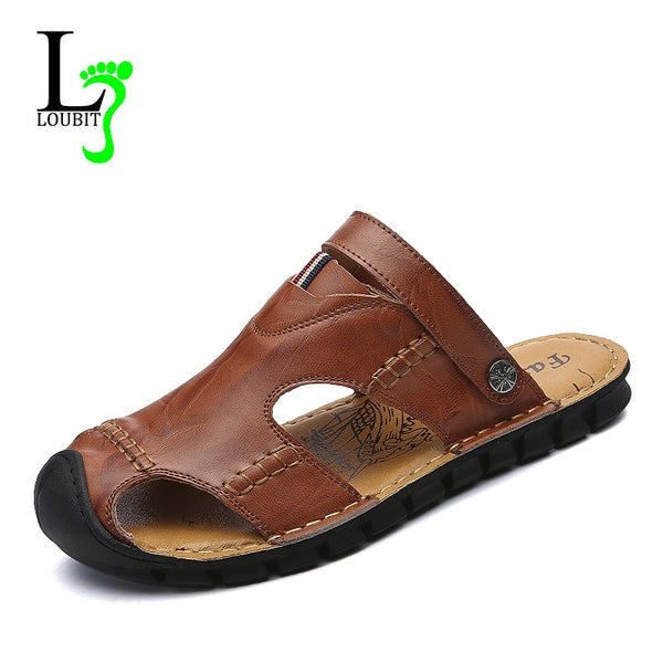 663e3620a8e High Quality Summer Leather Men s Sandals – styleNB