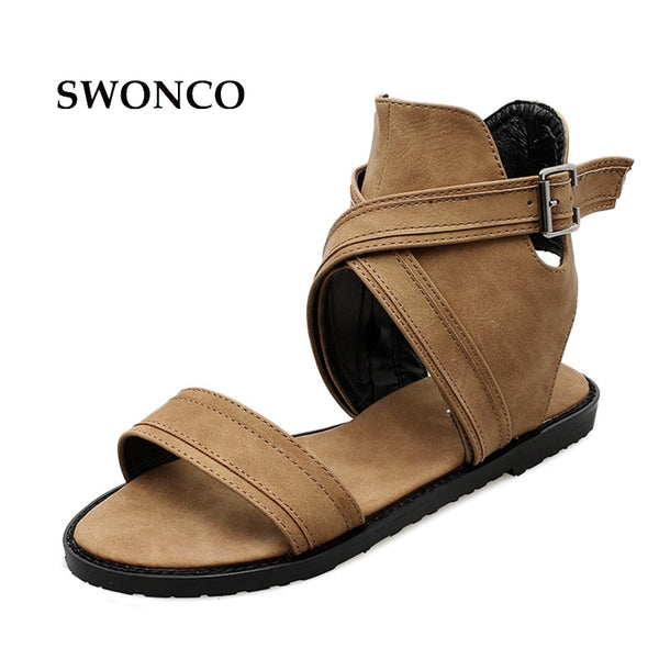 Sandals - Casual Summer Ladies Gladiator Sandals – styleNB 5d413bb818