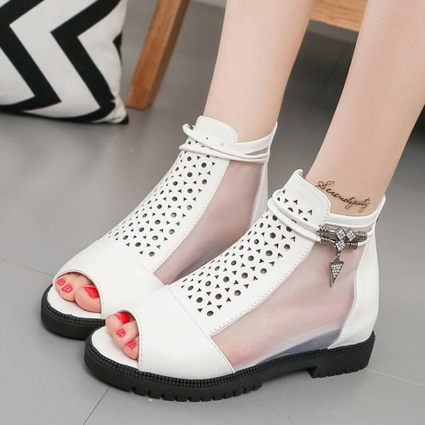 72b4fc5c1ab Women Summer Wedge Height Increasing Sandals