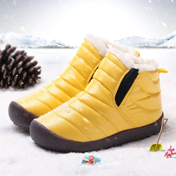 Children Casual Soft Sandals Children Shoes Winter Warm Non Slip