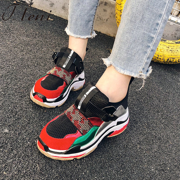 448af646d9e Women's Shoes - Women's 2019 Fashion Breathable Dad Sneakers – styleNB