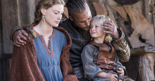 Aslaug the wife of Ragnar Lothbrok