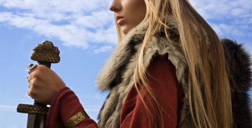 Viking woman: Sigrid was among the most powerful Viking Queen