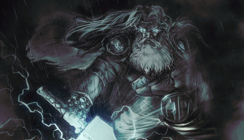 God Thor God of Thunder and Storm in Norse mythology