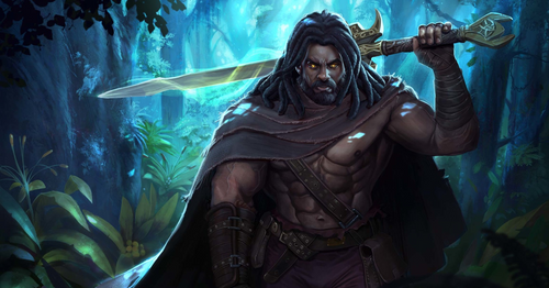 Heimdall the Guardsman of Asgard in Norse mythology