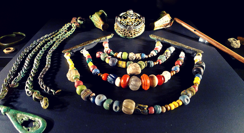 Image of Viking jewelry artefacts