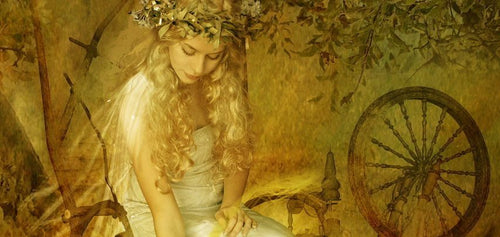 Image of Frigg goddess odins wife