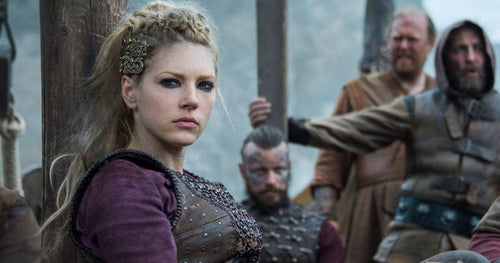 Lagertha Viking Shieldmaiden or Reflection of Norse Goddess