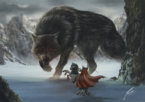 Wolves in Norse Mythology: Powerful and Cruel?