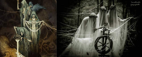 Three Norns in Norse mythology