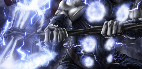 Thor God of Thunder and Storm