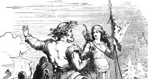 In Norse mythology, the marriage of Skadi and Njord ended quickly after their wedding because the pair could not tolerate the difference with their partner