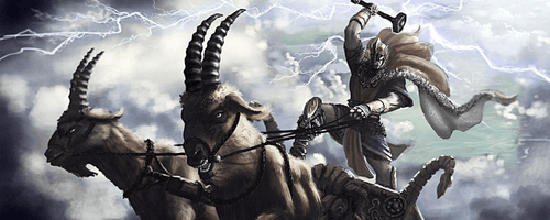 Thor Goats in Norse mythology