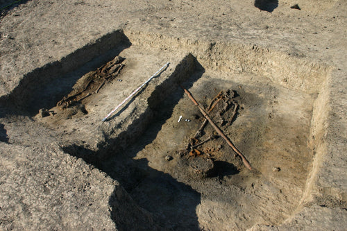 Viking burial in Pomerania