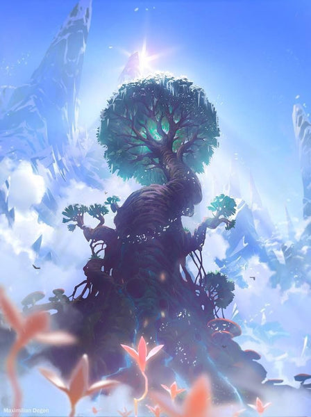 Tree of Life in Norse mythology. Does Yggdrasil have a soul?