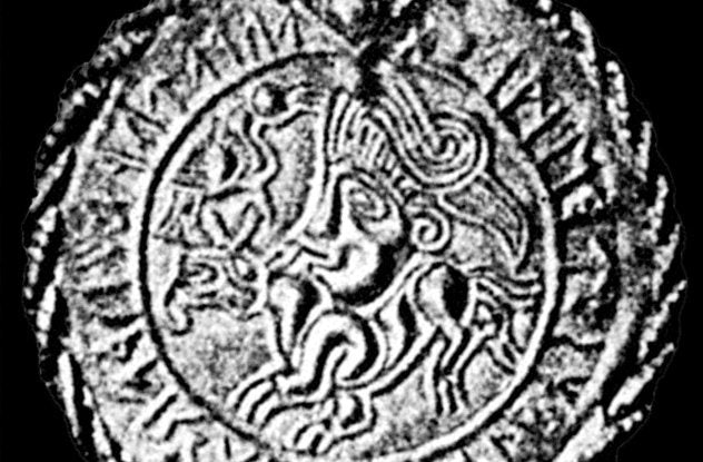 Vadstena bracteate Viking jewelry