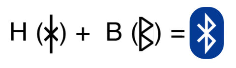 Image of Bluetooth symbol explained