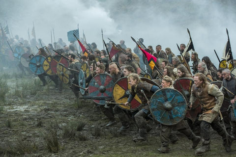 Image of Viking warriors and battles
