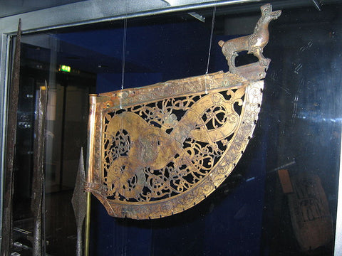 The Söderala weathervane with the Viking Ringerike pattern