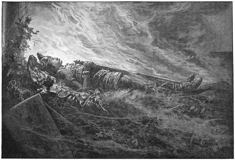 Image of Baldur funeral the Death of Baldur
