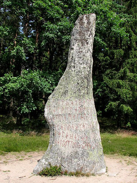 Image of Viking runestone