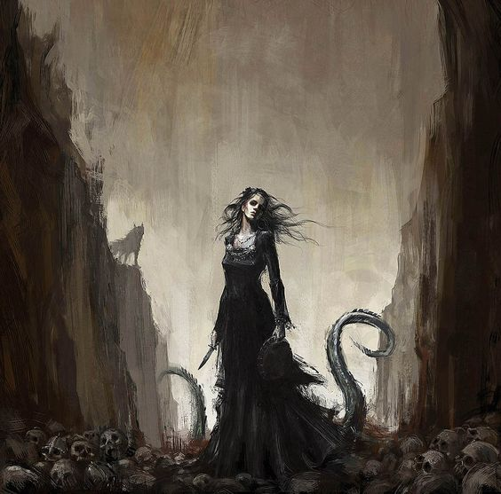 Hel was the queen of the Dead in Norse mythology. She was among the most powerful women in Norse mythology