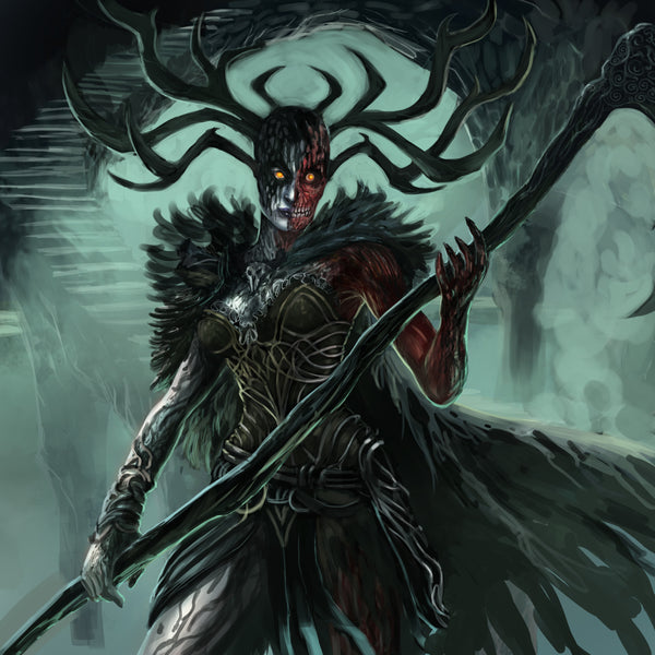 Hel the Queen of the Dead in Norse mythology