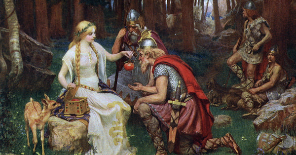 Idunn goddess of youth fruits in Norse mythology