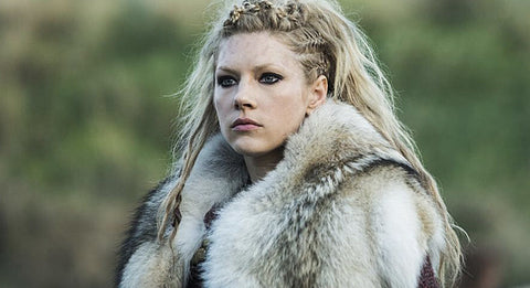 "Image of Lagertha Viking woman in TV Series ""Vikings"""