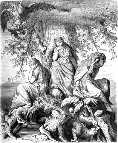 Image of Norns Norse mythology
