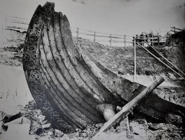 Viking Oseberg burial ship