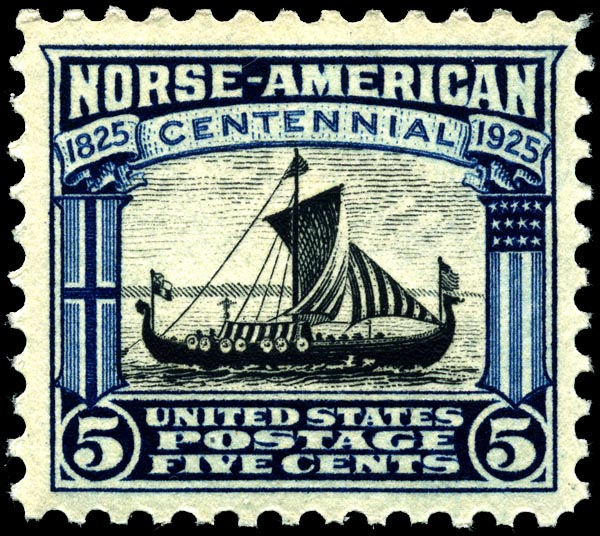 Image of Viking stamp Viking ship