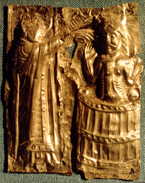 The baptism of King Harald Bluetooth