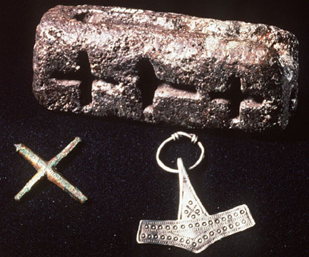 Thor hammer mould found in Denmark