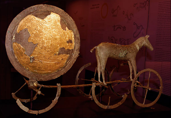 Trundholm Sun Chariot Artifact from Denmark