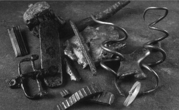 The Viking hoard of metalwork found in Blackwater at Shanmullagh