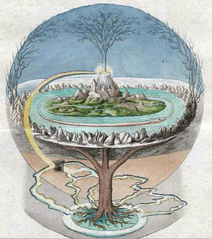 Image of Viking Yggdrasil Tree of Life Viking Symbol