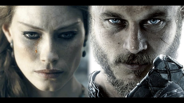 Ragnar Lothbrok and Aslaug the Wife