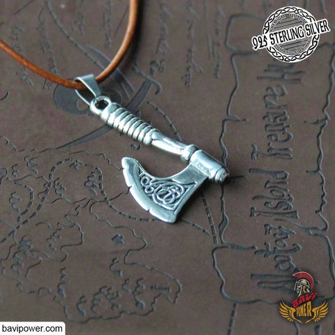 Image of Viking axe jewelry viking strength symbol