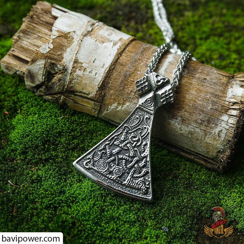 Image of Viking axe jewelry viking symbol of strength