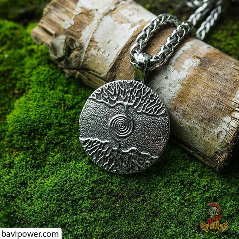 Image of Viking Tree of Life Yggdrasil Jewelry