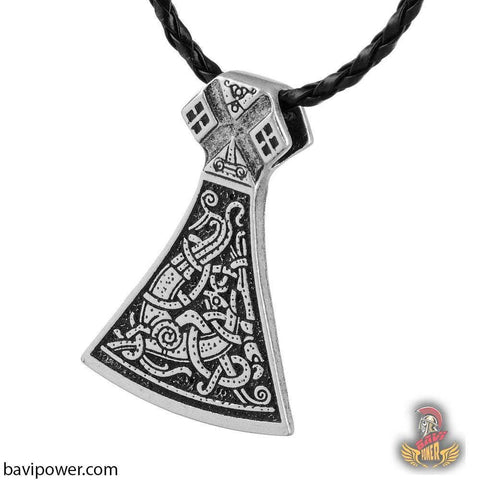 Viking Mammen Axe Necklace
