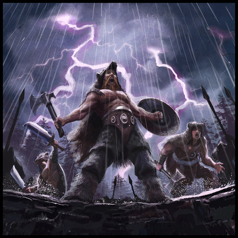 Image of Viking berserkers