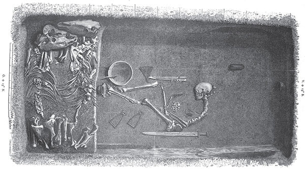 The Birka BJ581 burial Viking BJ581 burial