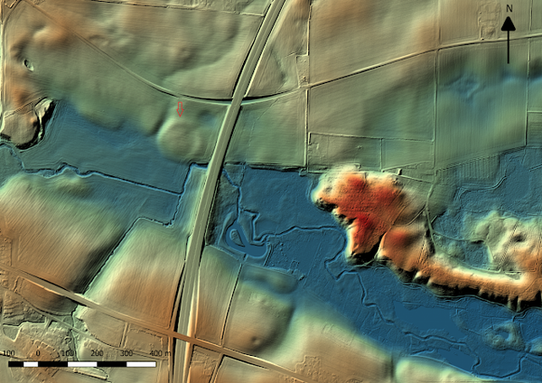 Without the hi-tech LIDAR, the archaeologists would never find out the Borgring Viking Fort in Denmark