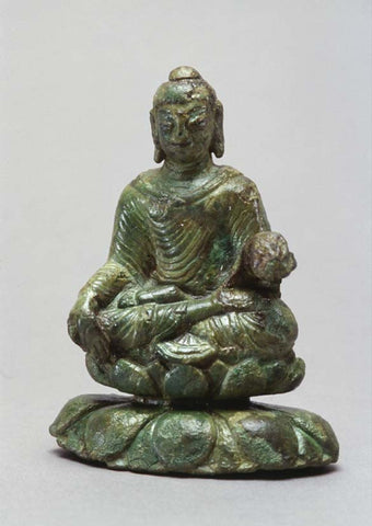Image of Viking Buddha Statue in Helgo