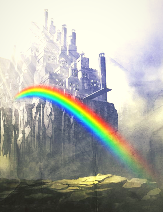 Image of Bifrost rainbow bridge