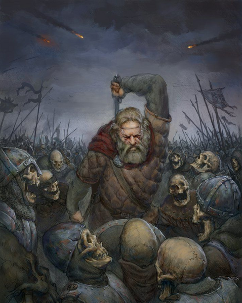 Blood by blood. Revenge for revenge. Sweyn Forkbeard declared war on those who killed the Danes