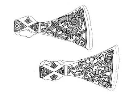 Image of Viking Mammen Axe