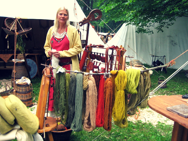 Image of VIking clothes Viking loves to share about his partner